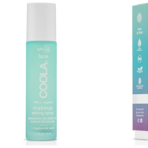 coola Other - New in Box Coola Makeup Setting Spray